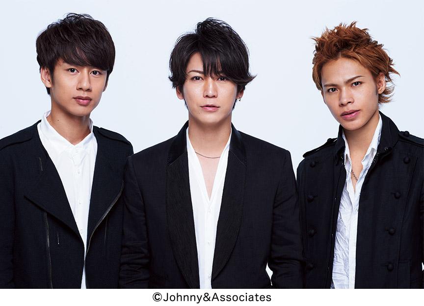 !KAT-TUNの、亀梨くん、上田くん、中丸くん、3人で!