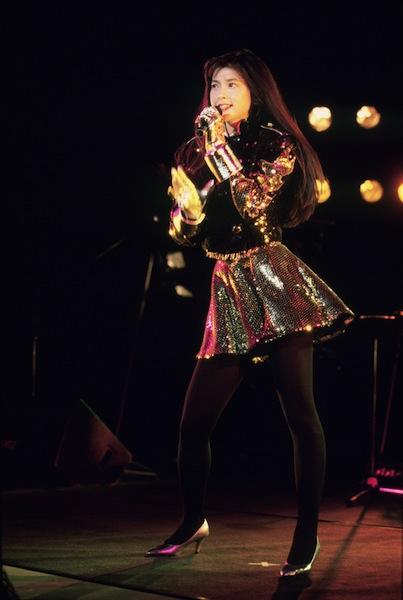 27年前、ライブでの森高千里さん