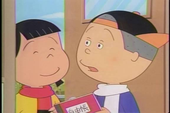 サザエさんの弟かつおの同級生、花沢さん