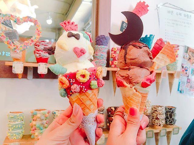 アイスクリーム 大阪府堀江にある「gfo groovy ice cream」