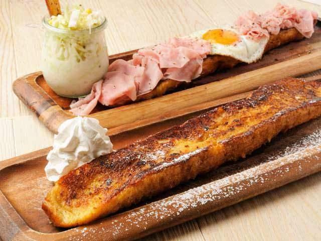 東京吉祥寺のパンと言ったらcafe 吉祥寺店のフレンチトースト