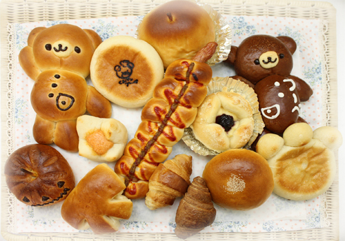 いわき市のパン屋さん、くまさんのパン