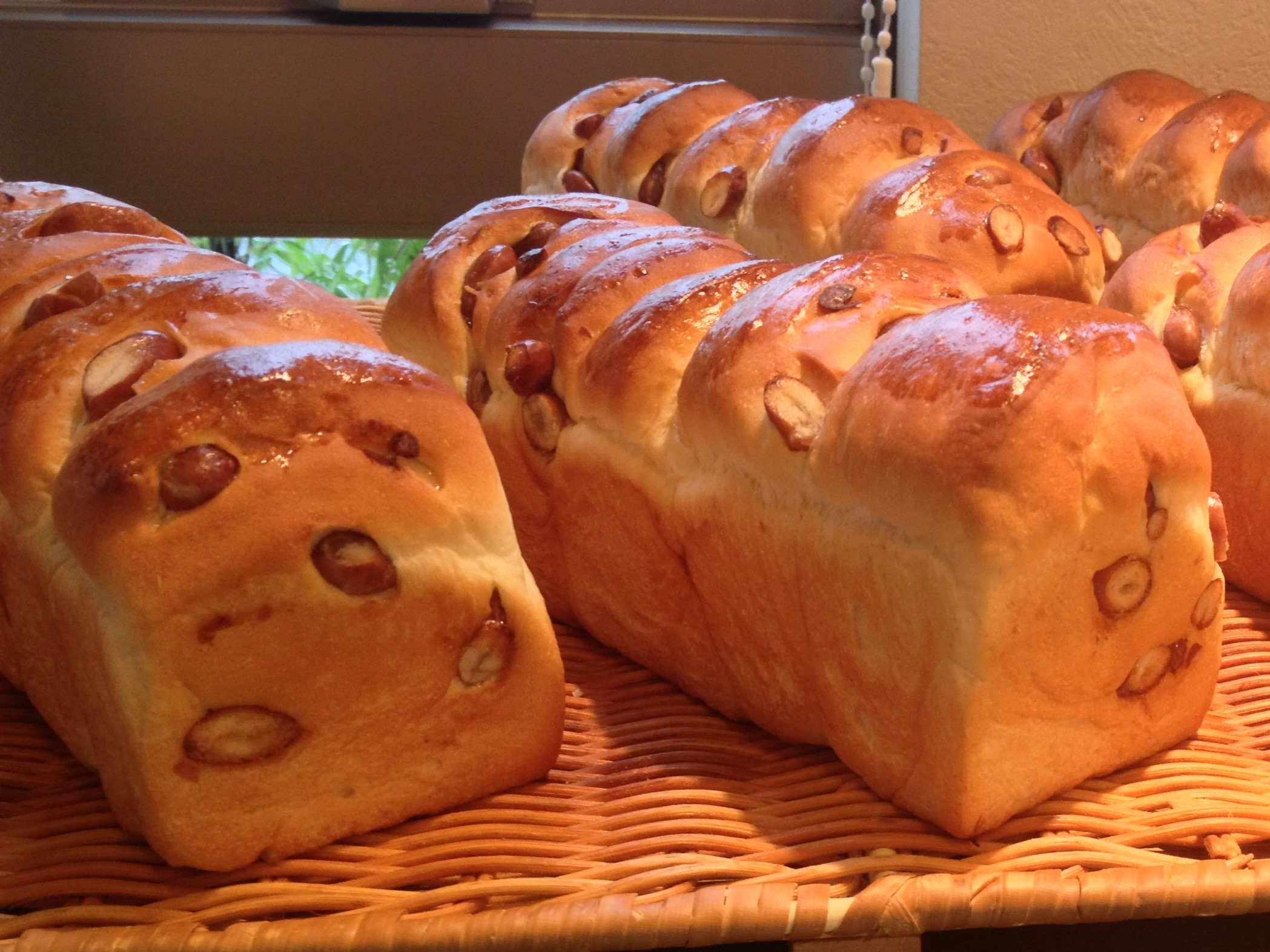 岡山県倉敷市にあるパン屋さん、ムギ