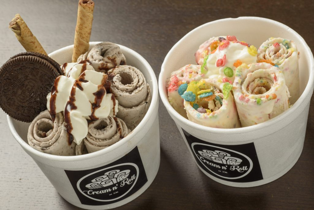 アイスクリーム「cream n ` rou」