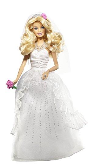 バービー、ウエディングドレス
