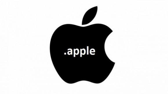 真っ黒のアップルロゴ