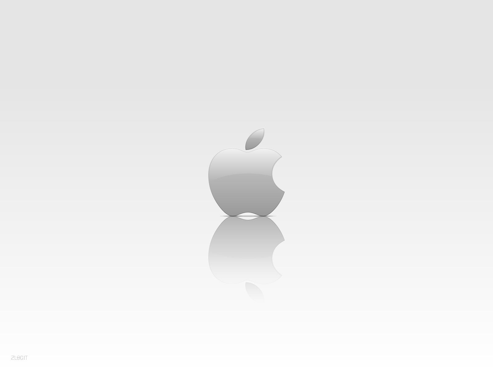 シンプルなアップルロゴ