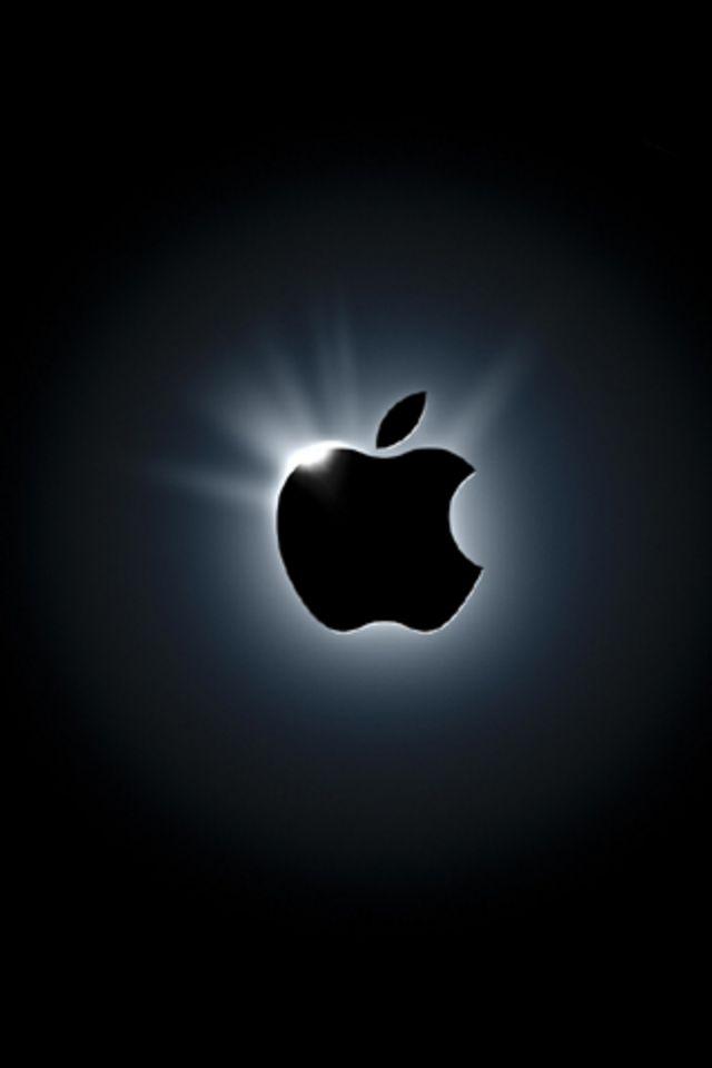 後光のさすアップルロゴ