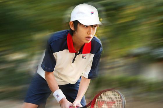 テニスの王子様、リョーマ役の本郷奏多さん