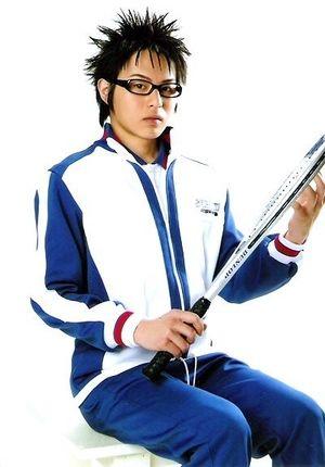 テニスの王子様、貫井貞治役の荒木宏文さん