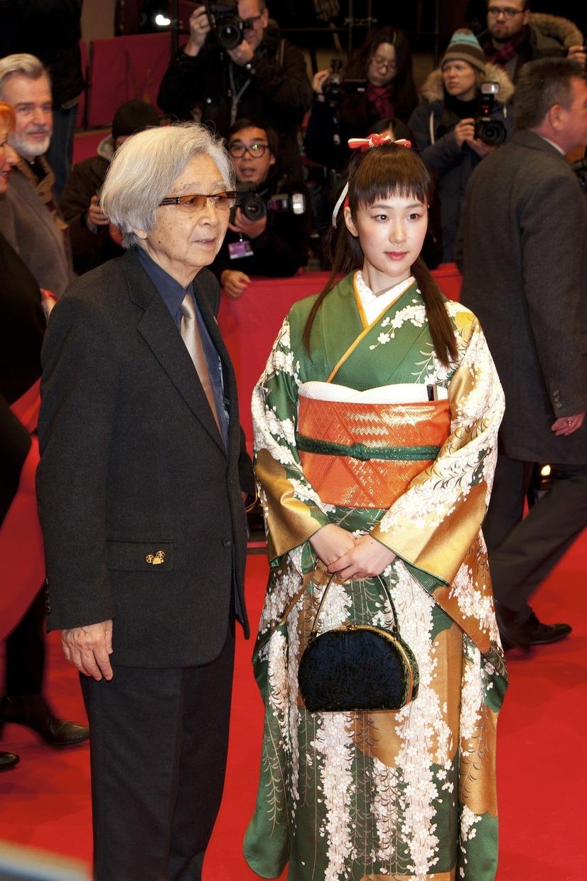 黒木華さんと山田洋次監督