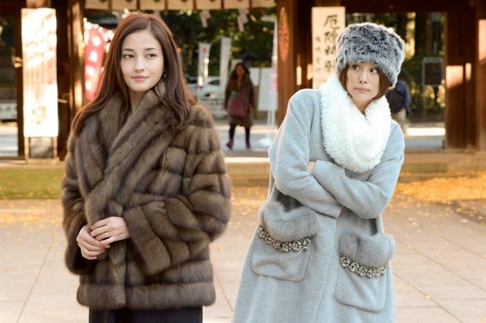 米倉涼子さんと黒木メイサさん