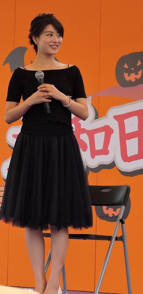 大和田げんき祭りでの郡司恭子さん