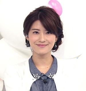 小顔の郡司恭子さん