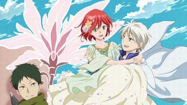 赤髪の白雪姫、絵にな二人