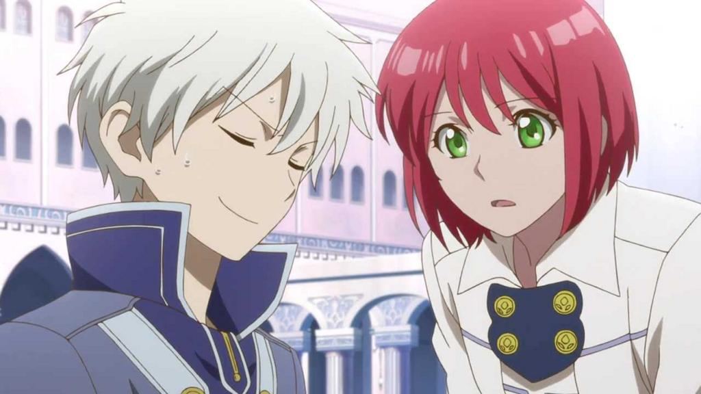 赤髪の白雪姫、ゼンと白雪