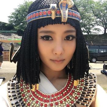 エジプト王妃役の夏菜さん