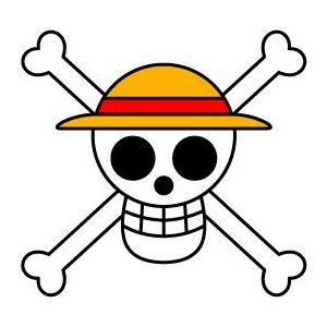 onepieceを象徴する海賊旗