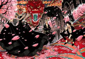 桜吹雪のonepiece画像