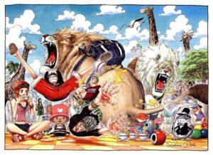 動物たちと海賊団のonepiece画像