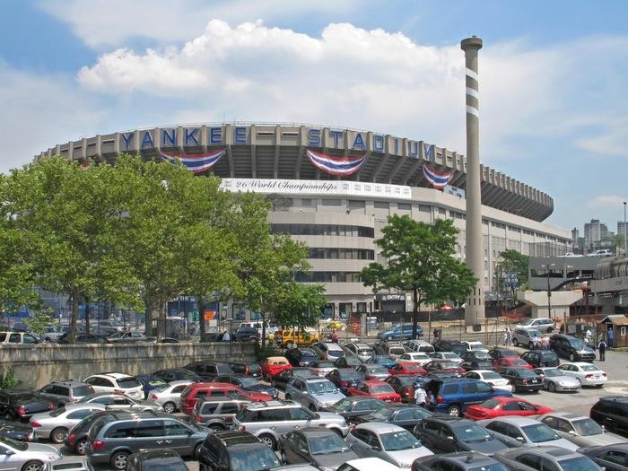 ヤンキースタジアムは、いわずと知れたニューヨークヤンキースの本拠地球場。