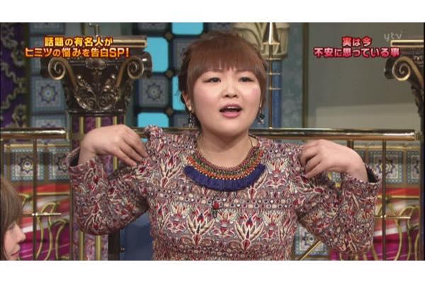 最近の柳原可奈子さん。痩せた姿は少し矢口真里さんにも似ているような気がします。