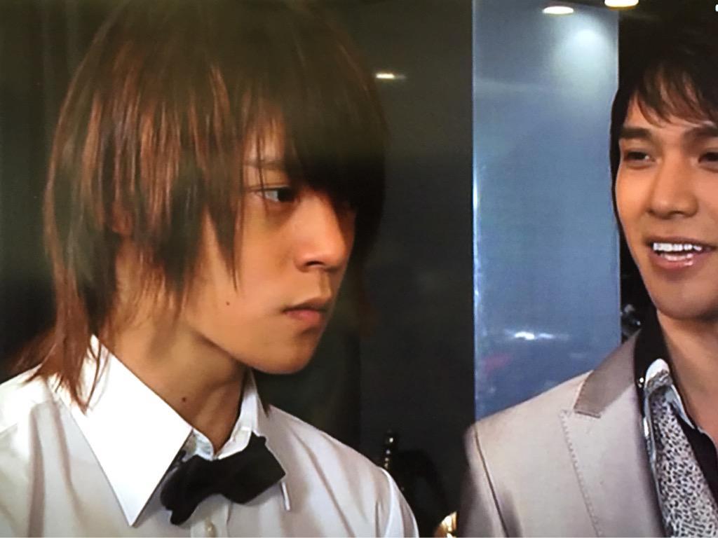 横髪長めの窪田正孝さん。少し若い頃でしょうか。かわいらしいです。