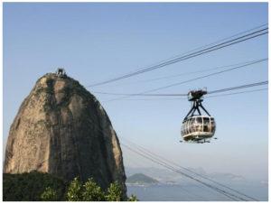 リオデジャネイロのシュガーローフマウンテン