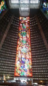 リオデジャネイロの教会ステンドグラス