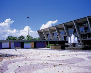 リオデジャネイロ近代美術館併設の映画館