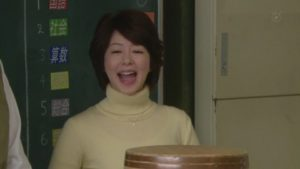 先生役の堀内敬子