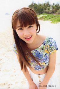 リゾート服の石田亜佑美