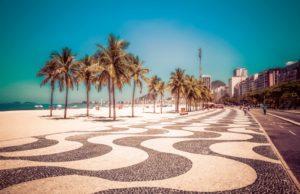 リオデジャネイロの遊歩道