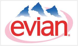 エビアンの企業ロゴ