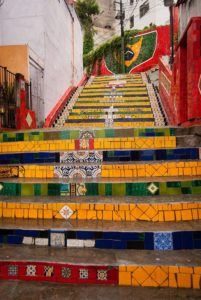 リオデジャネイロのセラロン階段