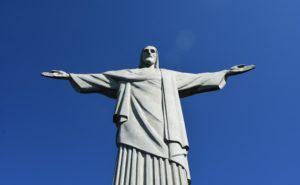リオデジャネイロのキリスト像