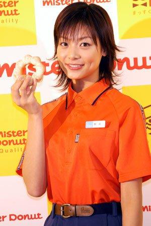 「ミスタードーナッツ」のCM出演が話題となった相武紗季さん。外はねヘアが可愛らしいですね。