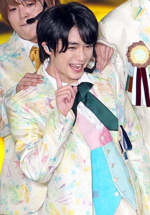 「Hey!Sey!JUMP」内の「お花畑が似合いそうなメンバー」で2位に輝いた知念侑李さん。