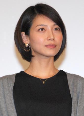 『シティーハンター』30周年&日本テレビ系連続ドラマ『エンジェル・ハート』感謝イベントに登場した相武紗季さん。