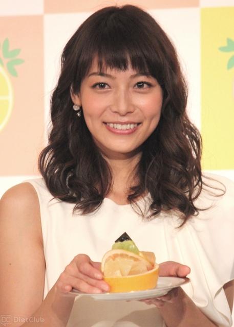 『フロリダグレープフルーツの日 2月26日記念イベント』に参加した相武紗季さん。結婚相手はイケメン社長と言われています。