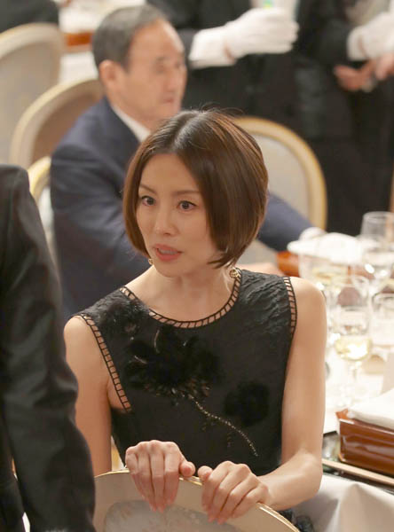 アメリカ合衆国トランプ大統領が来日した際に迎賓館に招待された米倉涼子さん。トランプ大統領の好みのタイプだったそうです。