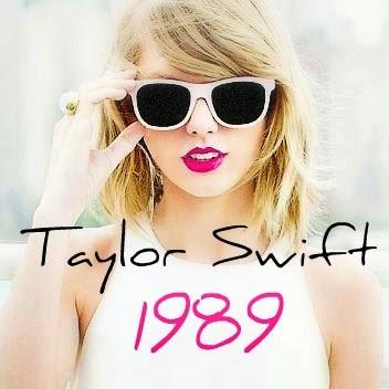 アルバム「1989」のジャケットを飾るテイラー・スウィフト。ホワイトのサングラスがイメージに合っていますね。