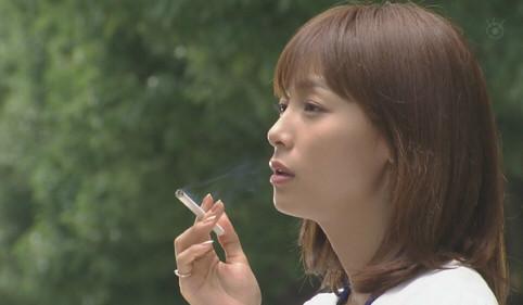ドラマ「ブザービート」に出演した相武紗季さん。悪役を熱演しました。