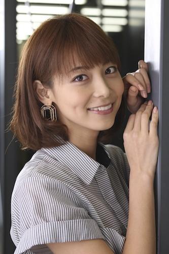 ドラマ「FLY!」に出演した相武紗季さん。女手ひとつで小学1年生の男の子を育てる母親役を演じました。