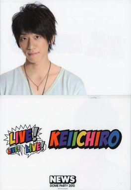 ホワイトのTシャツの小山慶一郎さん。とても爽やかな印象ですね。