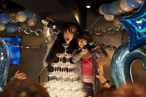 映画「闇金ウシジマくん」に出演した門脇麦さん。窪田正孝さん演じるホストにどっぷりとはまるフリーター役を演じました。