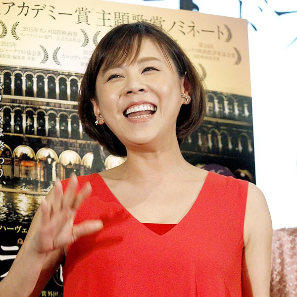 映画『グランドフィナーレ』のトーク&ライブイベントに参加した高橋真麻さん。もし結婚したらフリーアナウンサーの勢力図が一変すると言われています。