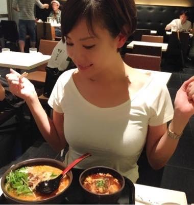 真也のラーメンが大好きな高橋真麻さん。激太りの原因ともいわれています。
