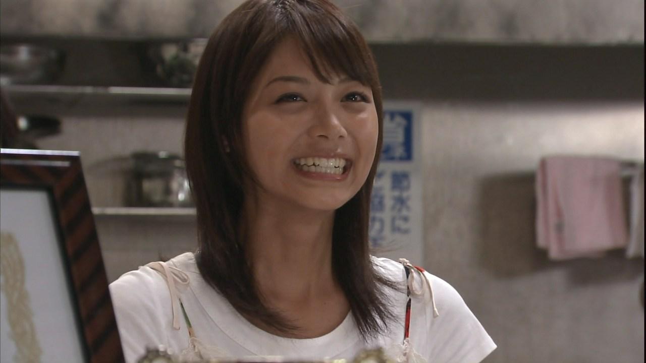 笑顔がかわいい相武紗季さん。見ているこちらまで元気になれそうですね。