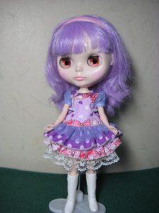 色々カラーワンピのブライス人形